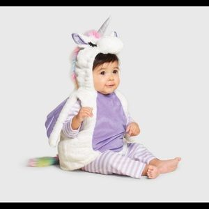 Brand new toddler unicorn costume 12-18 months